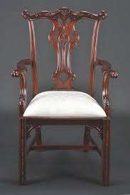 Chippendale Furniture Mahogany Dining Chairs Chippendale Style Dining Chairs