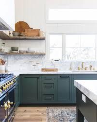 Green kitchen | See this Instagram post by @amberinteriors | Kitchen ...