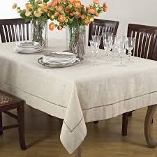 Amazon.com: Handmade Hemstitch Design Natural Tablecloth. One Piece. 40  Inch Square.: Home & Kitchen