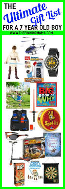 Ultimate list of gift ideas for a 7 year old boy. Best birthday BEST Gift Ideas Year Old Boy \u2022 The Pinning Mama