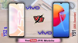vivo Y51 Dec. 2020 vs vivo Y52s: Specs ...