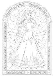 Stained Glass Color It Pinterest Coloriage Zelda Et Vitraux