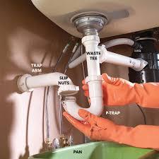 clogged sink drains