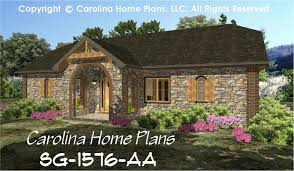 small stone cottage house plan 2 br study 2 baths 1 story