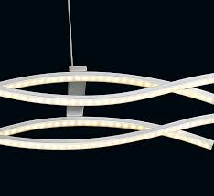 sly 4 light led contemporary linear chandelier