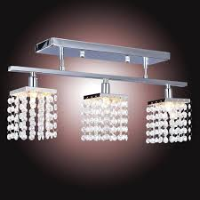 track lighting chandelier crystal chandelier with lights lamp home decoration lighting linear design in chandeliers from
