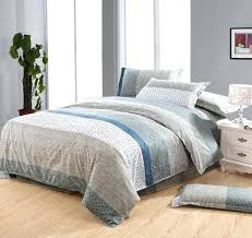 blue and brown duvet cover white blue gray brown stone flower cotton queen size duvet blue