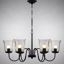 eye catching chandelier glass shades lighting ideas
