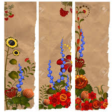 Design Bookmarks A Set Of Paper Bookmarks With Traditional Ukrainian Designs
