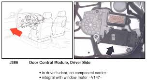 driver s doorlock and driver s power mirror not working attached images files