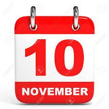 「11月10日 カレンダー」の画像検索結果