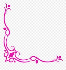 Free Download Wedding Corner Border Png Clipart Decorative