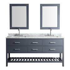 72 vanity top.  Top Design Element London 72in Vanity With Marble Top Basin And  Mirror And 72