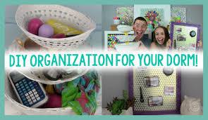 Diy Organization Diy Organization For Your Dorm Room Decor Dorm Life Hack Youtube