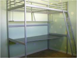ikea double loft bed with desk home design remodeling ideas