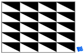 black and white tile pattern. Unique Pattern Triangle Tile Pattern  Isoscelese Mix  Throughout Black And White Tile Pattern