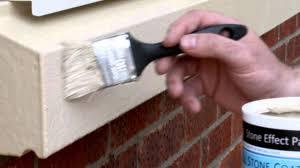 renovate repair and paint your windowsills using stonelux windowsill stone coating you