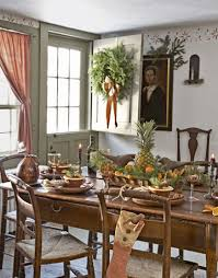 Colonial Dining Room Decor