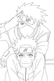 Naruto Coloring Sheets Coloring Pages Naruto Coloring Pages Kakashi