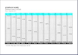 Forecasting Spreadsheet Cash Flow Forecast Example Template For Forecasts Small