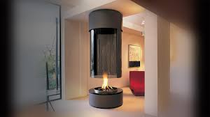 fire orb gas fireplace ideas ceiling mounted