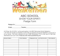Pledge Sheets For Fundraising Template Pledge Sheets For