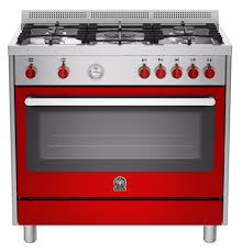 free standing stove. LA GERMANIA Stainless Steel Freestanding Cooker With 142 Litres Electric Oven RIS95C 61L B X - Come Free Standing Stove