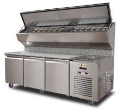 marsal pizza ovens refrigerated prep tables commercial inside countertop station design 49