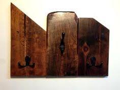 Reclaimed Wood Wall Coat Rack Reclaimed wood wall mount coat rack entryway storage coat hook 74