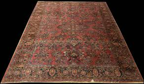 antique persian sarouk rug8 6 x 12 rug sa28070