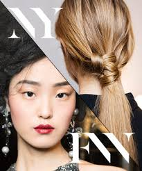 these fashion week hair makeup and nail looks may technically be trends for fall 2016 but there s no reason you shouldn t be knotting your hair and