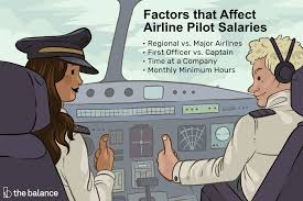 Pilot Salary Chart Find Out How Much Money Airline Pilots Really Earn