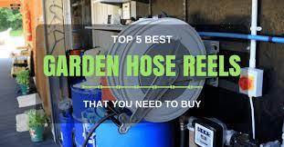 best garden hose reel cart with wheels