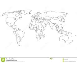 Wereldkaart Zwart Wit Kleurplaat Konabeun Zum Ausdrucken