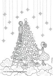 Christmas Tree Colouring Pages For Adults Weareeachother Coloring