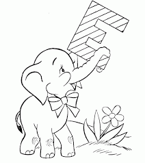 Small Picture Awesome Cute Baby Elephant Coloring Pages Pictures Coloring Page