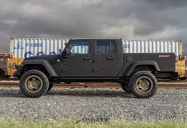 starwood motors the bandit 4 door jeep truck conversion now