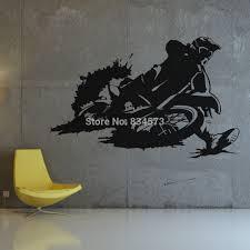 Motocross Bedroom Decor Online Get Cheap Motocross Wall Murals Aliexpresscom Alibaba Group