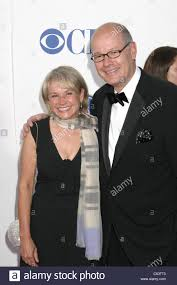 wife, Harry Smith at arrivals for American Theatre Wing's Antoinette Stock  Photo - Alamy