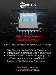 Digital Hardware Design Engineer Germany Digital Design Engineer Jayant Joshi