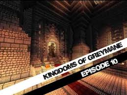minecraft kingdoms of greymane part 10 throne room by jeracraft