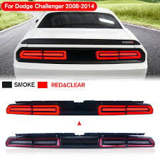 Challenger Sequential Lights Car Accessories Tail Lamp Led Tail Light Full Led Light Bar