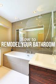 Steps To Remodeling A Bathroom Best A StepbyStep Guide To A Do It Yourself Bathroom Remodel Budget
