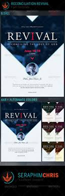 revival flyers templates reconciliation revival church flyer template flyer template