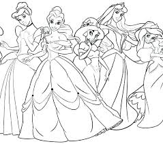 Princess Coloring Pages Frozen And Coloring Pages Printable
