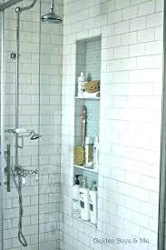 build a shower niche post tile shower niche ideas make a how to build built