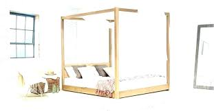 Ikea Four Poster Bed Hemnes Low Beds 4 Poster Bed Low Four Poster ...