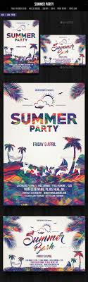 17 best ideas about flyers flyer design graphic summer party flyer