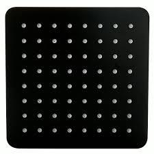 Xxl Led Rain Shower Head Dpg5030 70 X 38 Cm Black