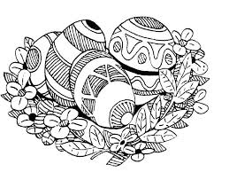 Easter Wreath Coloring Pages Disney Princesses Halloween For Adults